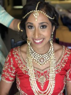 indianbride beauty for ceremony