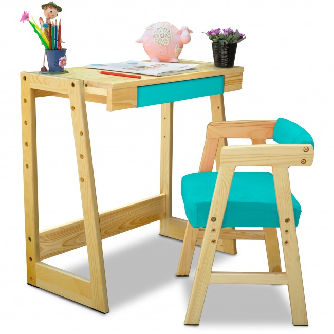 study table and chair for kids wooden chairs dining room importance of kid s to elevate your child performance
