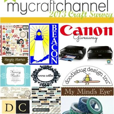 My Craft Channel 2013 Craft Survey