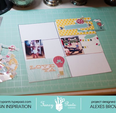 Fancy Pants Sneak Peek and a Project Life Tutorial