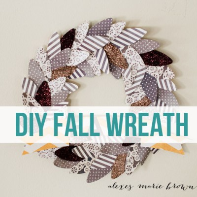 Fall Holiday Wreath – Fancy Pants Designs