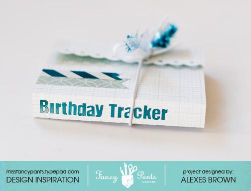Fancy Pants Designs – Birthday Tracker