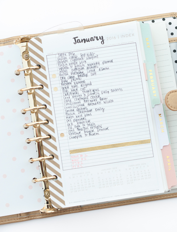 Alexes Marie Brown | My Minds Eye | Planner Love