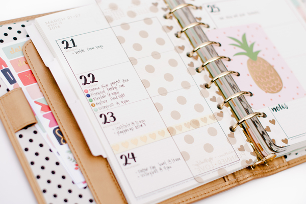 Planner Set Up | My Minds Eye | On Trend