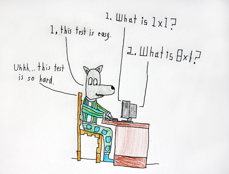 Computer Math Test – Alex