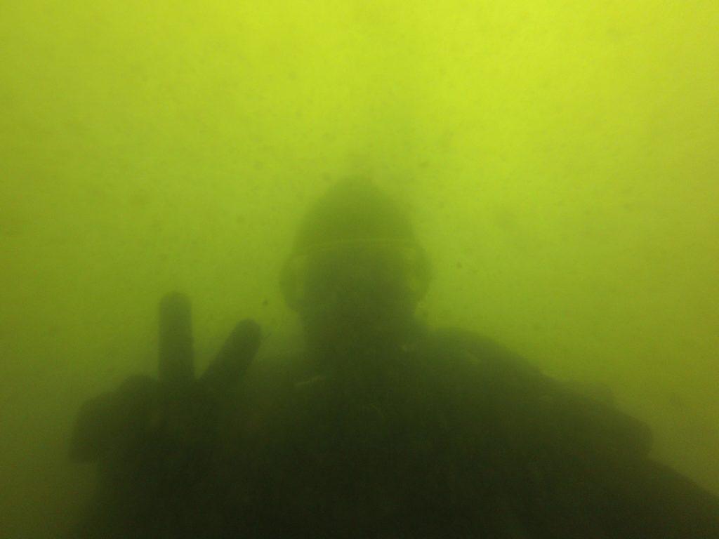 В Забайкальском крае дайвинг есть! Фотография с глубины 3 метров в озере Арей.