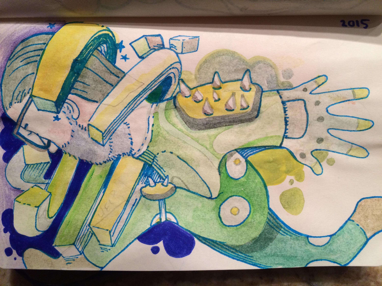 Sketchbook update…