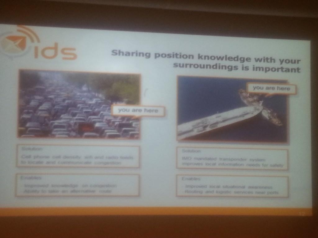 Presentation by Jeroen Rotteveel from ISIS