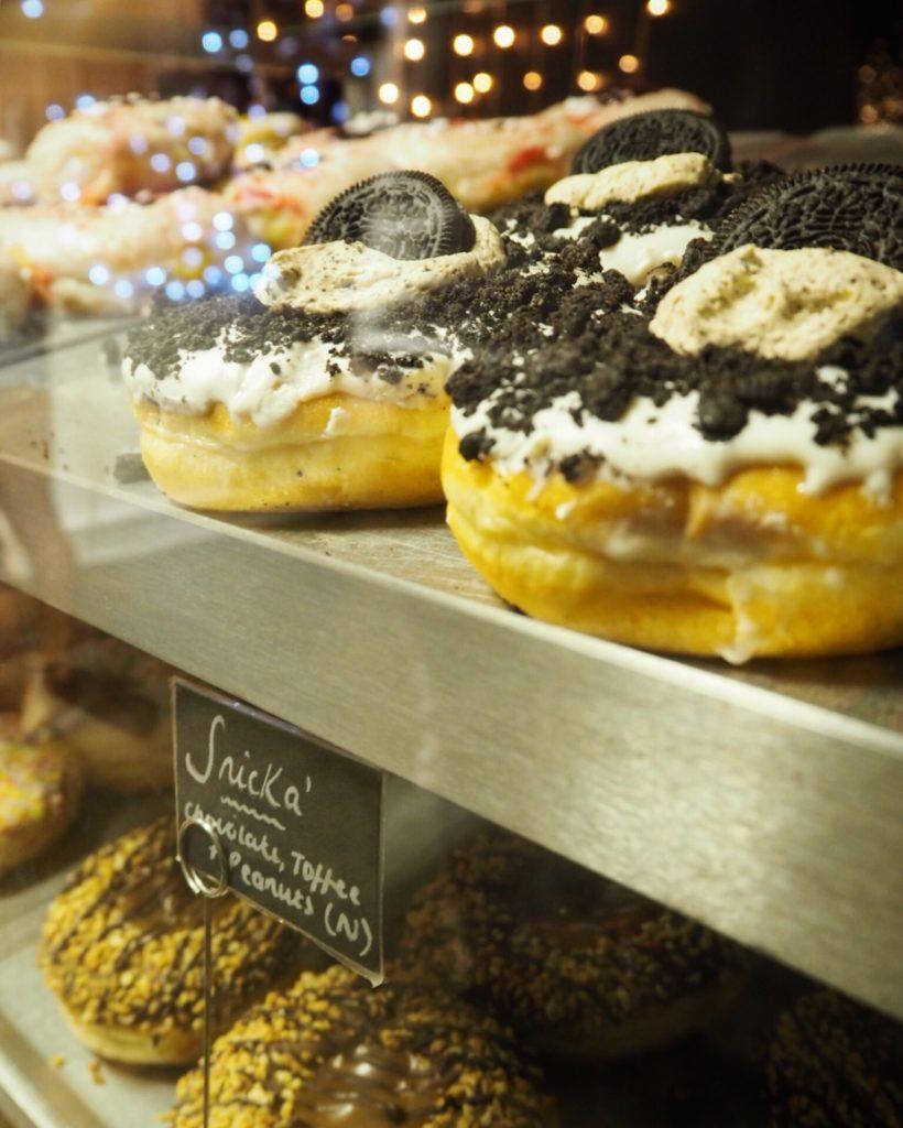 Doughnotts selection is massive