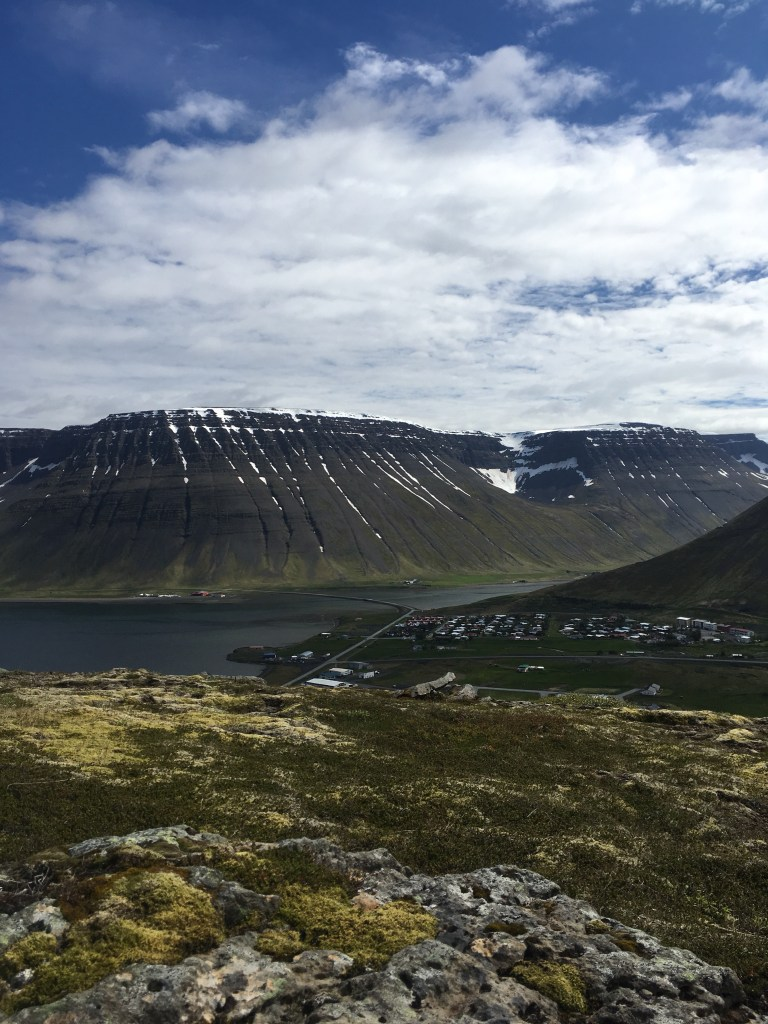 mountain view of the Westfjords
