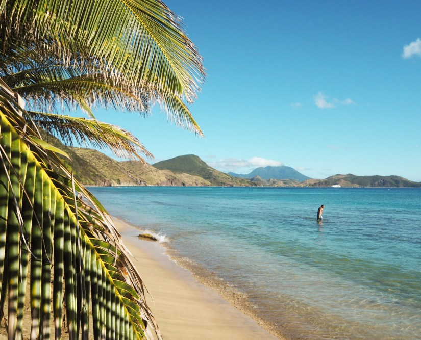South Friars bay is one of the best beaches in St kitts