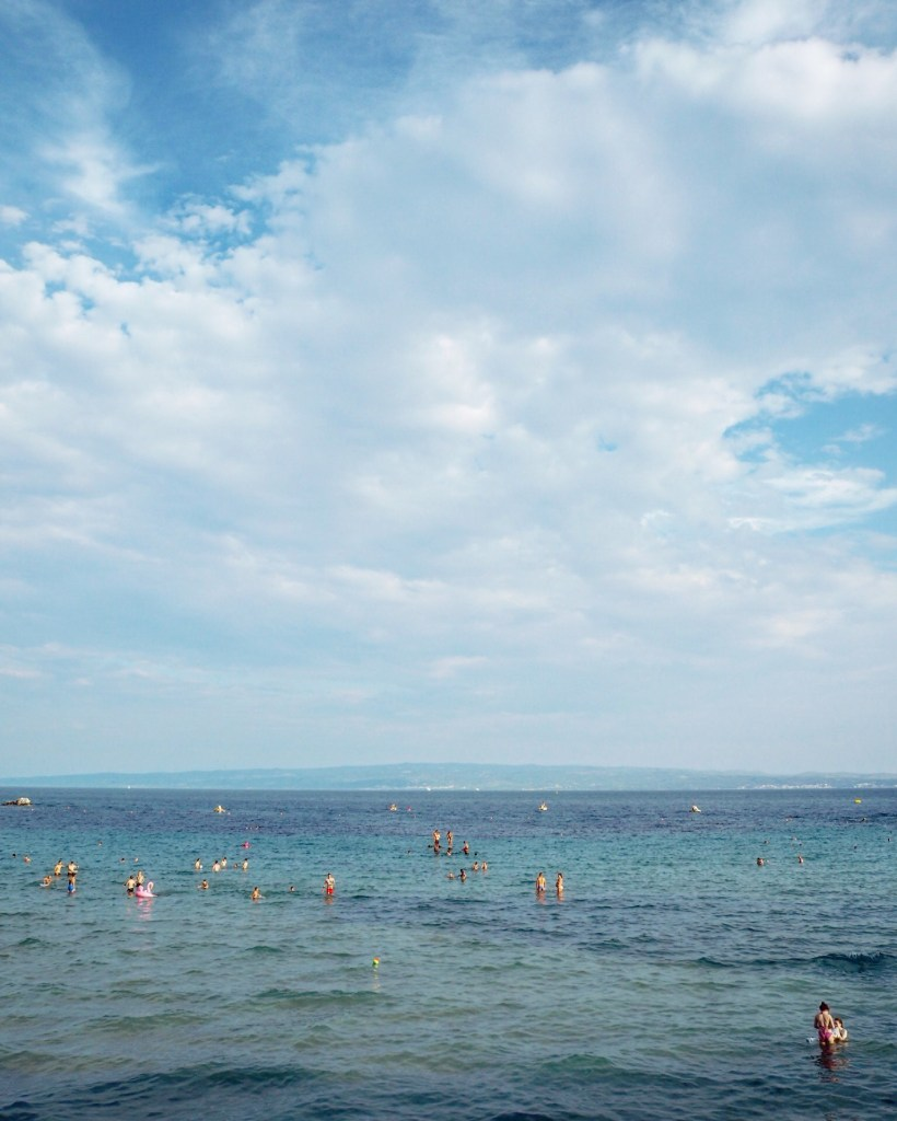 Bačvice the most popular beach in Split