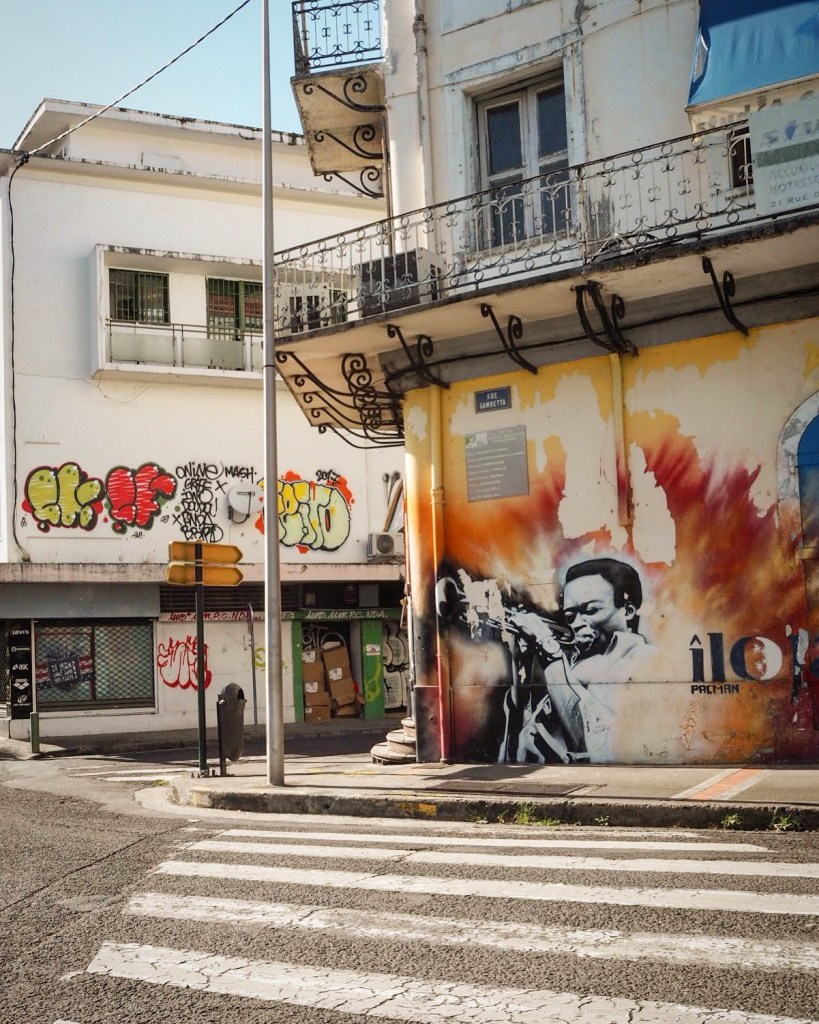 what to do in guadeloupe- street art tour