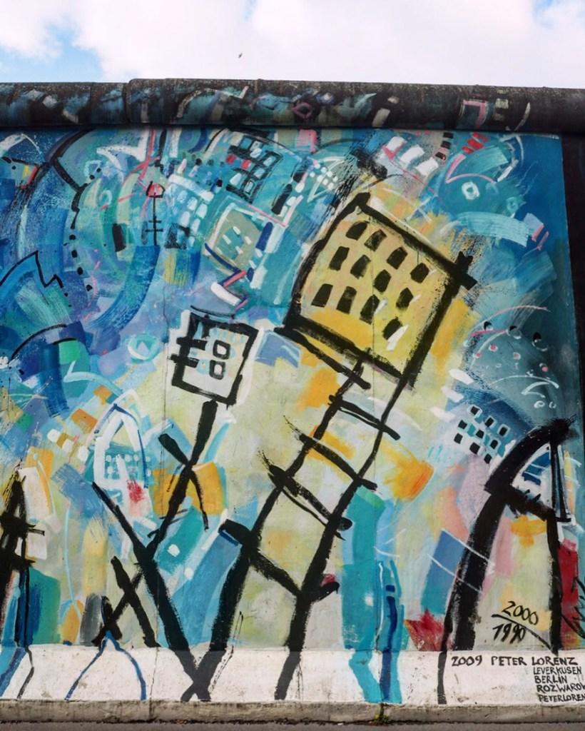 Berlin's East Side Gallery- free Berlin
