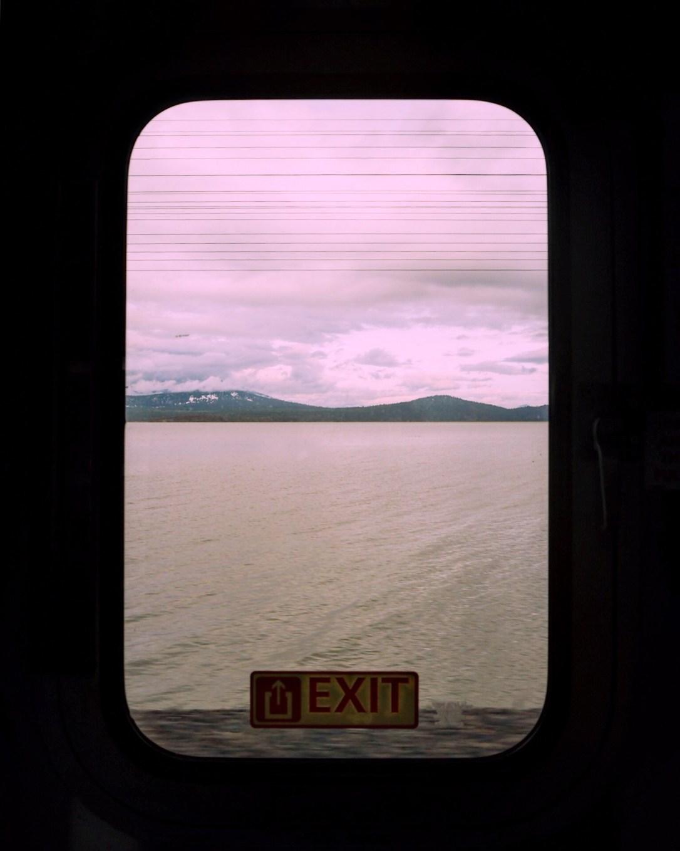 the Amtrak journey from Sacramento to Portland