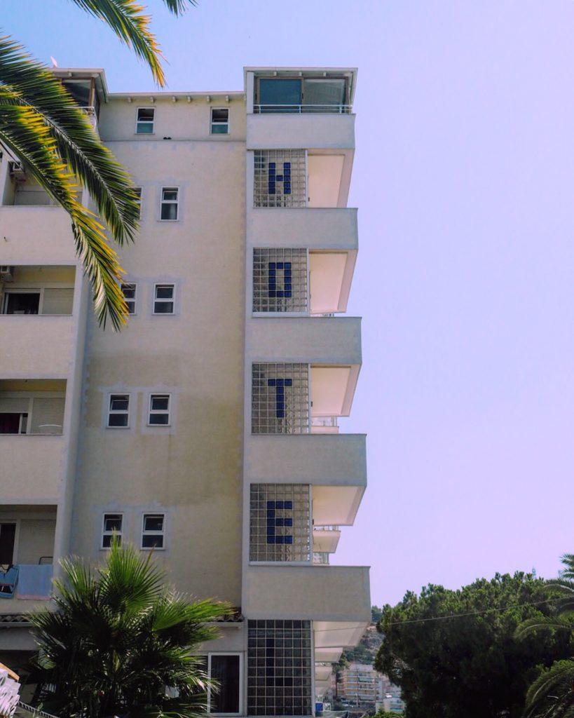 A hotel in Albania