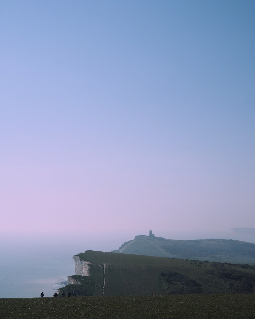 walking from Eastbourne to Beachy Head