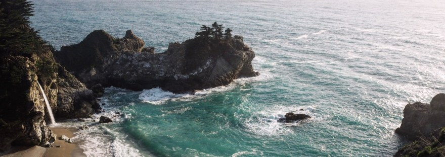McWay Falls on a Big Sur road trip