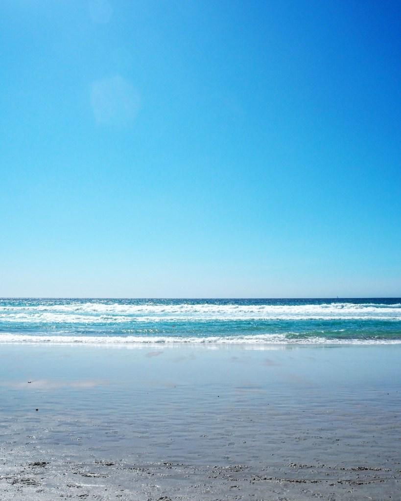 beautiful beach at Carmel-by-the-Sea California