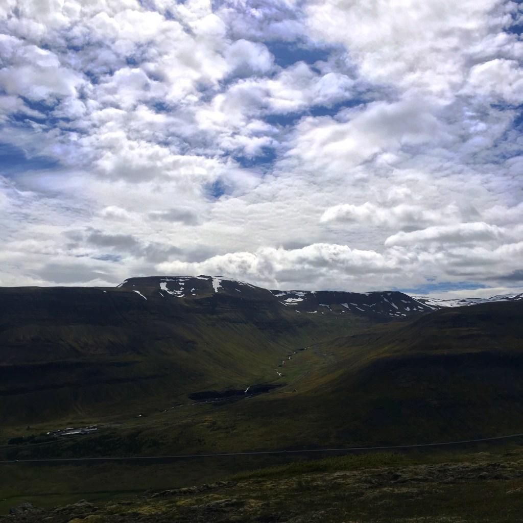 Isafjordur, Iceland in Summer