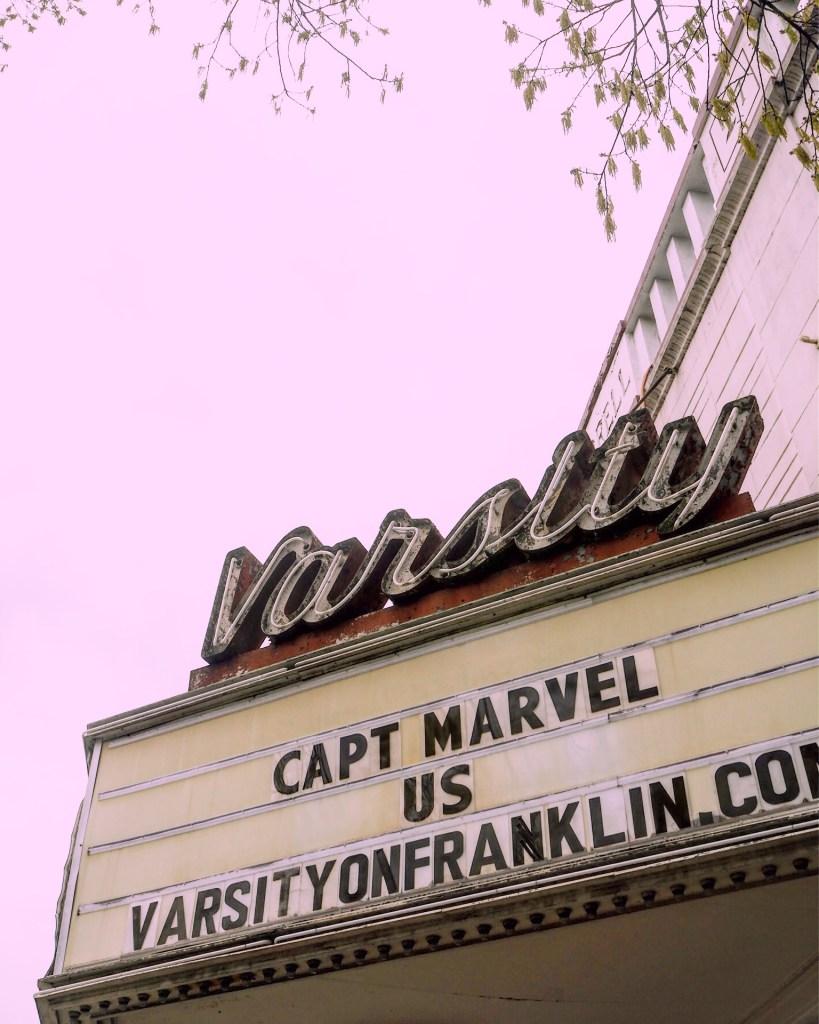 a cinema in Chapel Hill North Carolina