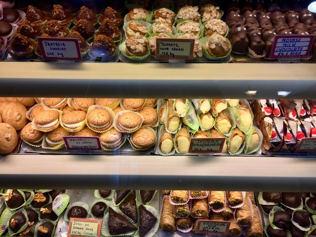 best pastries in Corfu Town
