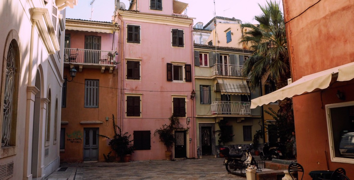 a guide to Corfu Town