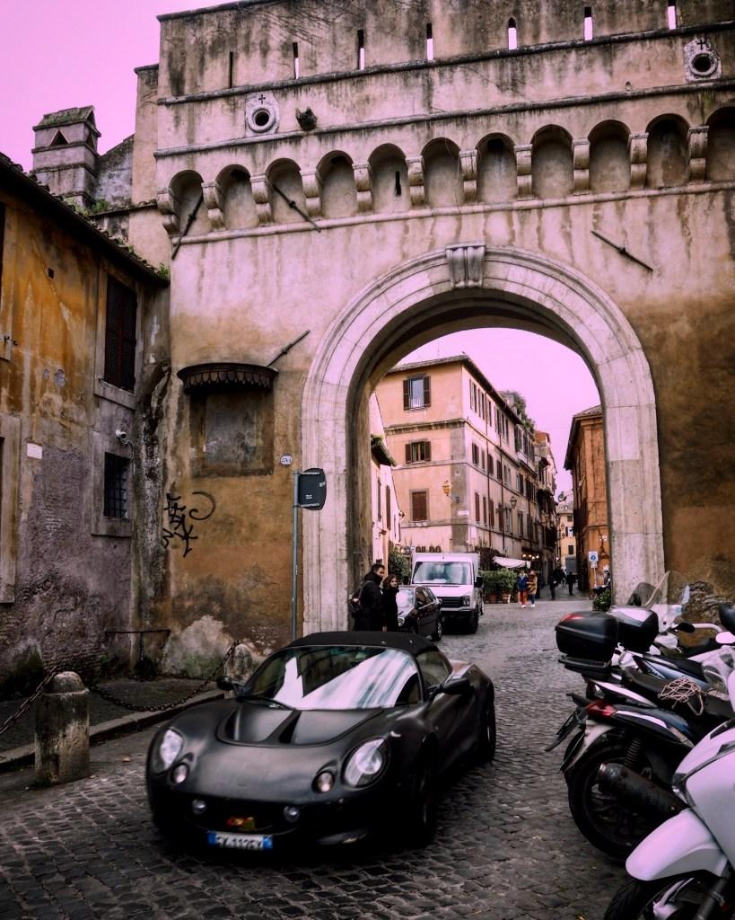super car in Rome
