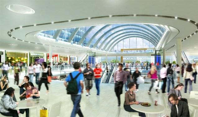EustonStation shopping mall