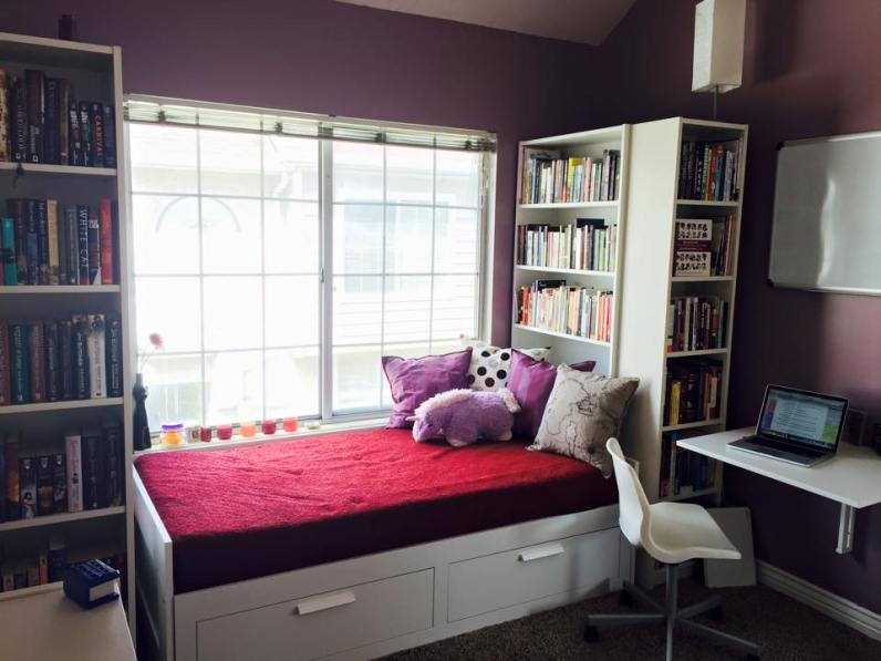 Book Nook Before