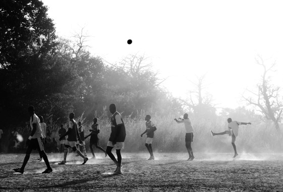 Football is the most popular sport in The Gambia