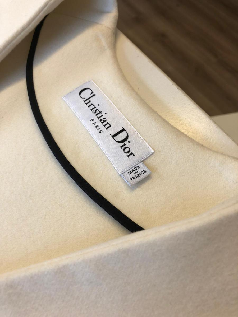 Christian Dior label made in France