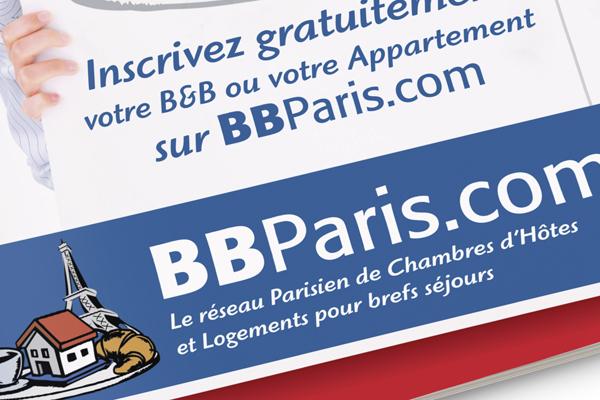 Progetto grafico impaginazione grafica brochure BBParis