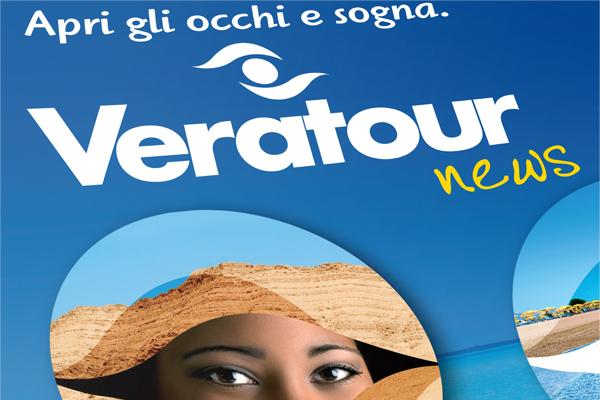 Impaginazione grafica cataloghi Veratour