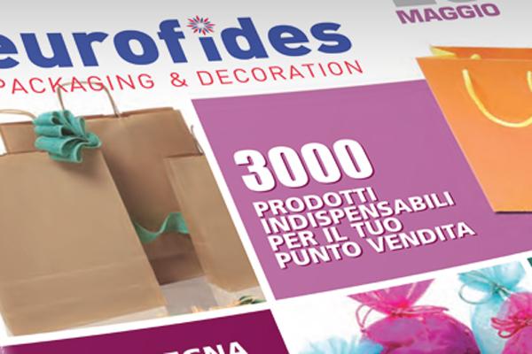 Impaginazione grafica cataloghi commerciali Eurofides