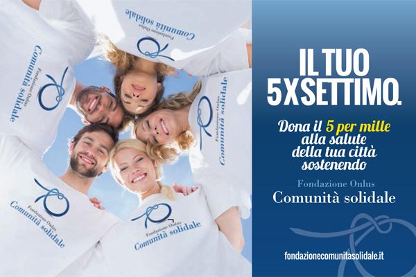 comunicazione creativa pubblicitaria 5x1000 Fondazione