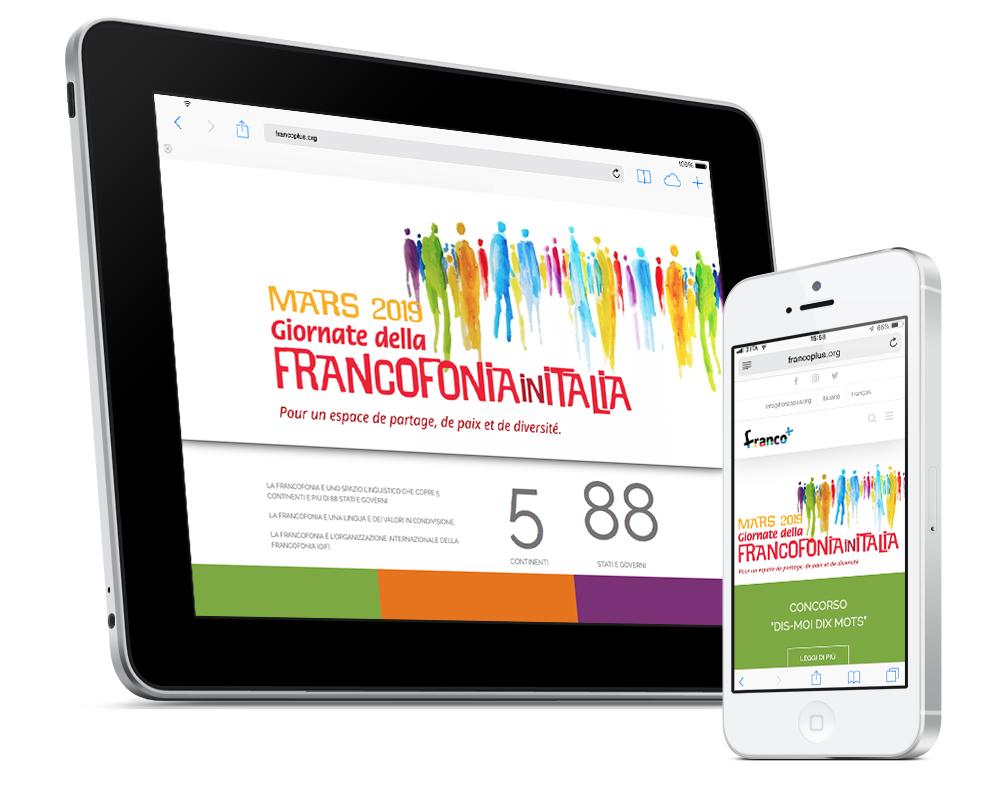 Realizzazione sito multilingua Francoplus   alexiamasi.com