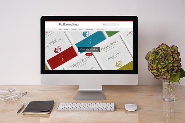 Realizzazione sito web Il Pensiero Storico
