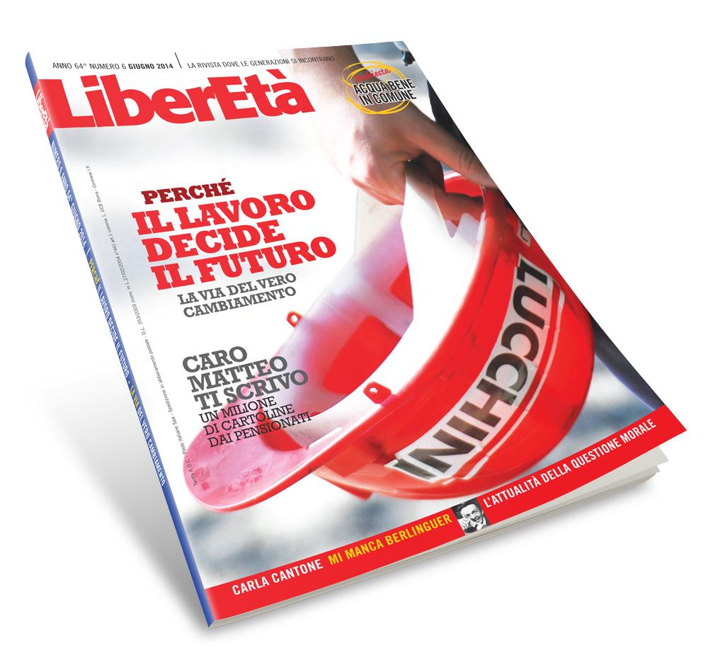 Impaginazione riviste LiberEtà interno