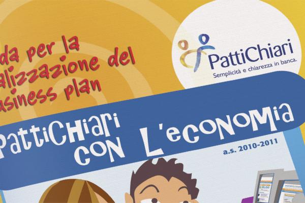 Progetto grafico impaginazione brochure PattiChiari