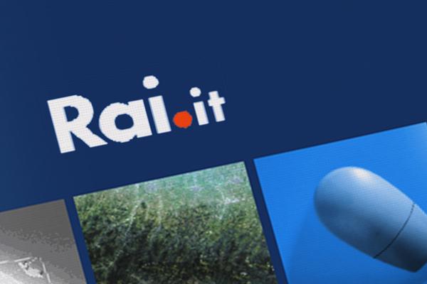 Impaginazione grafica brochure Rai