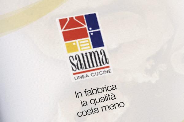 Progetto grafico impaginazione grafica brochure Salima