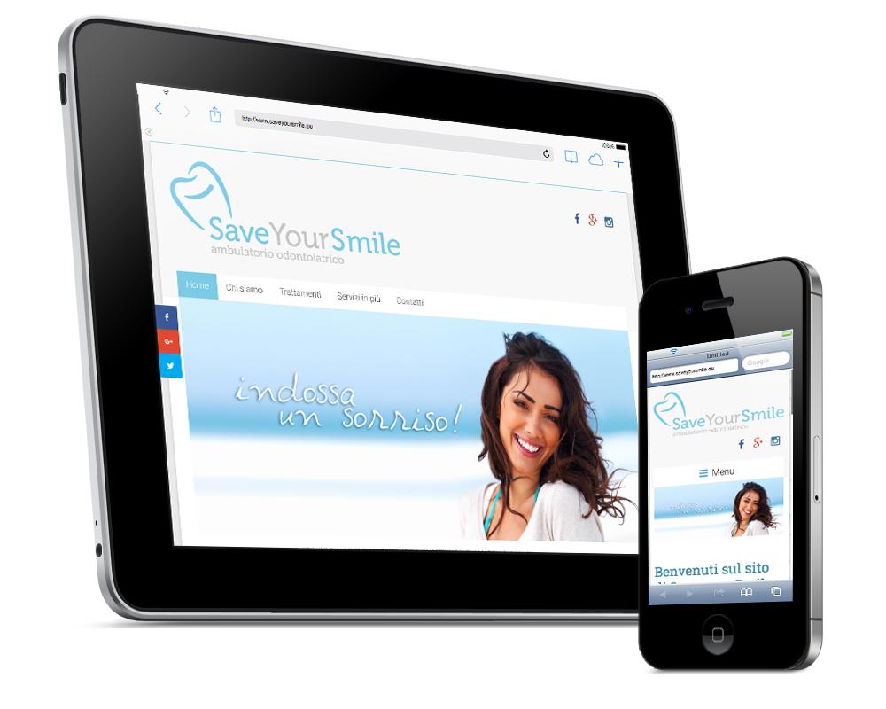 realizzazione siti roma save your smile dentista roma