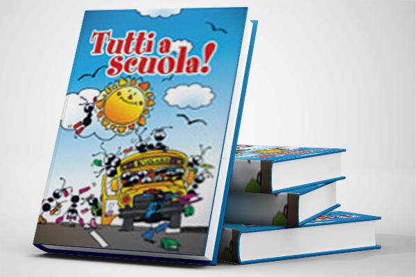 Impaginazione grafica libri scolastici