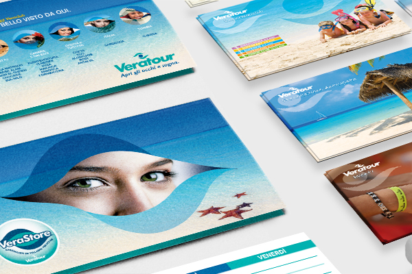 Creatività pubblicitaria e applicazioni Veratour
