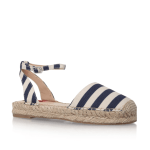 London Rebel Espadrille Sandal with Ankle strap