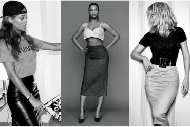 Celebrities, Rihanna and Beyonce wearing pencil skirts