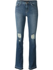 J Brand Distressed Bootcut Jeans £306.00