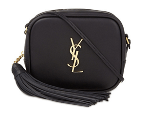 SAINT LAURENT Monogram Leather Shoulder Bag £645