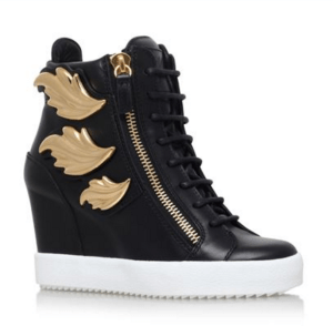 Giuseppe Zanotti Devlin Wedge Sneakers £900.00